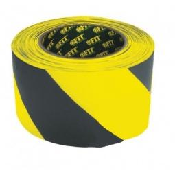фото Лента разметочная FIT. Цвет: желтый, черный