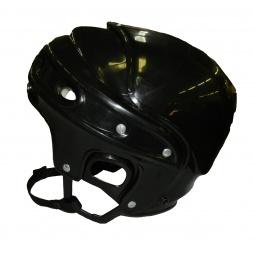 фото Шлем хоккейный ATEMI «Мега». Цвет: черный