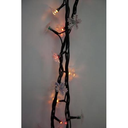 Купить Гирлянда электрическая Новогодняя сказка «Снежинки» 971239