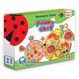 фото Игра развивающая на магнитах Roter Kofer «Юный повар. Пицца»
