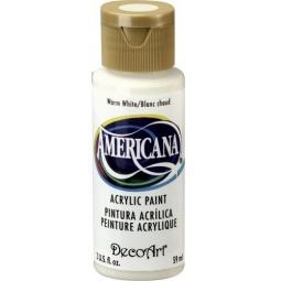 фото Краска акриловая DecoArt Премиум Americana. Цвет: теплый белый