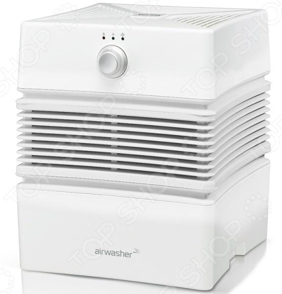 Увлажнитель-очиститель воздуха Winia RAW-25NVNОсушители. Очистители. Увлажнители воздуха<br>Winia RAW-25NVN это современный, надежный и невероятно эффективный увлажнитель-очиститель воздуха. Как известно, необходимый уровень влажности в помещении должен составлять от 40 до 60 . Однако, в современных условиях не всегда удается постоянно следить за данными показателями, что приводит к сухости воздуха, а это в свою очередь ведет к регулярным простудным заболеваниям или аллергическим реакциям. Winia RAW-25NVN предназначен для качественного увлажнения, а также очистки воздуха в помещении от пыли, шерсти домашних животных, пылевых клещей и прочих вредных частиц. Прибор оснащен баком для воды на 7 литров и рассчитан на площадь комнаты до 18 м2. Интенсивность работы может регулироваться в двух режимах. Самым важным преимуществом, выделяющим данный прибор от его конкурентов заключается в том, что он не требует сменных элементов или фильтров, а его внутреннее пространство легко очищается от загрязнений. Благодаря компактным размерам и универсальной расцветке, увлажнитель-очиститель воздуха Winia RAW-25NVN впишется в любой интерьер.<br>