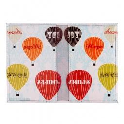 фото Обложка для паспорта двухсторонняя Mitya Veselkov «Полет на воздушном шаре»