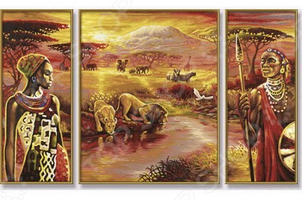 Набор для рисования по номерам Schipper «Килиманджаро»