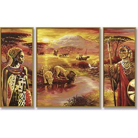 Купить Набор для рисования по номерам Schipper «Килиманджаро»