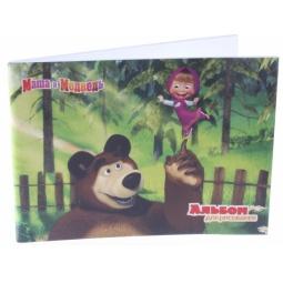 фото Альбом для рисования Росмэн «Маша и медведь» 13962