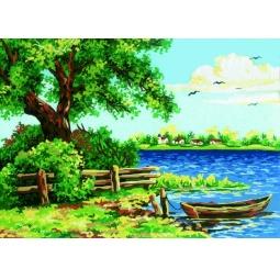 Купить Канва с нанесенным рисунком Collection D'art 10196