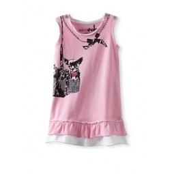 фото Платье детское с аппликацией Mini Shatsu Puppy Love. Рост: 62-68 см