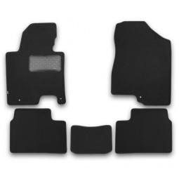 Комплект ковриков в салон автомобиля Klever KIA Sportage 2010 Premium - фото 6