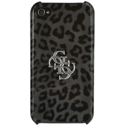 фото Чехол Guess Hard Case Leopard для iPhone 4S