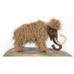 фото Мягкая игрушка для ребенка Hansa «Мамонт мама»