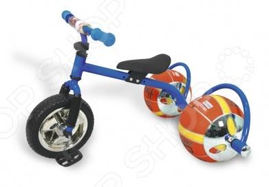 Велосипед с колесами в виде мячей Bradex «Баскетбайк» Велосипед детский Bradex «Баскетбайк» /Синий