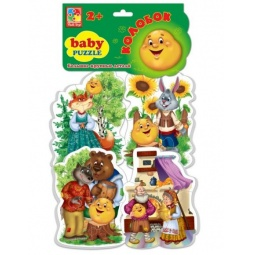 Купить Пазл мягкий Vladi Toys «Сказки. Колобок»