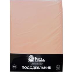 фото Пододеяльник Сова и Жаворонок Premium. Цвет: светло-бежевый. Размер пододеяльника: 143х216 см