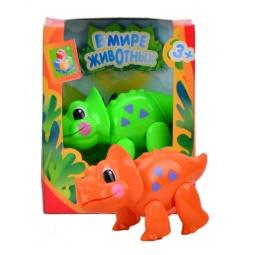 фото Фигурка 1 Toy «Динозавр». Цвет: оранжевый