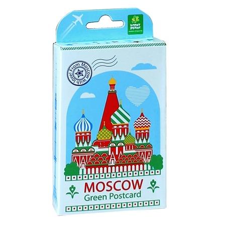 Купить Набор подарочный для выращивания Happy Plant «Живая открытка: Москва №1»