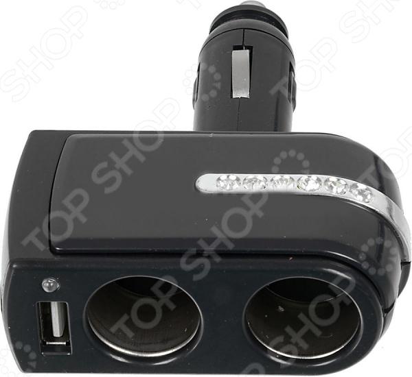 Разветвитель прикуривателя Wiiix TR-02U