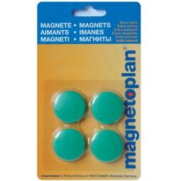 фото Набор магнитов в блистере Magnetoplan Standart. Цвет: зеленый