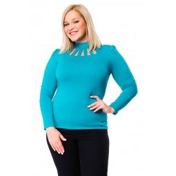 фото Водолазка Mondigo XL 417. Цвет: изумрудный. Размер одежды: 52