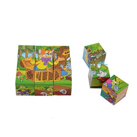 Купить Кубики обучающие Step By Step «Леопольд»