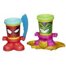 фото Набор пластилина Hasbro B0744 Play-Doh «Человек-Паук и Зеленый Гоблин»