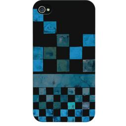 фото Чехол и пленка на экран Quiksilver Graphic Line для iPhone 5. Цвет: синий