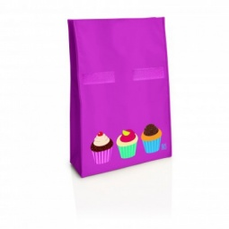 фото Термопакет IRIS Barcelona Ролбэг Snack Rico I9917. Цвет: розовый. Рисунок: капкейки