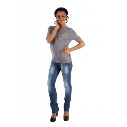 фото Жакет Mondigo 9768. Цвет: серый. Размер одежды: 46