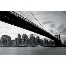 Купить Фотообои ARD Maximage «Вид из-под Бруклинского моста в Нью-Йорке»