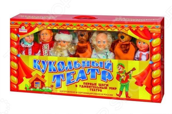 Набор для кукольного театра Весна с персонажами №2 Набор для кукольного театра Весна с персонажами №2 /