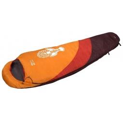 фото Спальный мешок NOVA TOUR «Крым». Расположение молнии: левостороннее. Цвет: оранжевый, красный