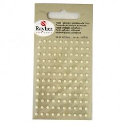 Купить Половинки пластиковых бусин самоклеющихся Rayher 151