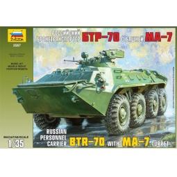 Купить Сборная модель Звезда российский БТР-70 с башней МА-7