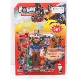 фото Игрушка-трансформер PlaySmart «Робот. Амфибот 6в1»
