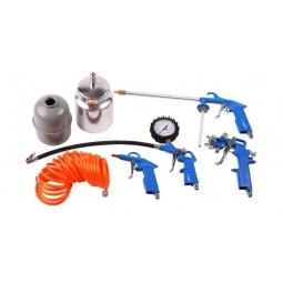 Купить Набор инструментов пневматический: шланг и 4 пистолета Зубр «Эксперт»