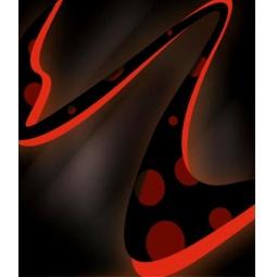 фото Тетрадь в клетку лакированная Пересвет «Абстракт»
