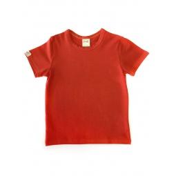 фото Футболка для мальчиков Ёмаё. Цвет: красный. Размер: 32. Рост: 122 см