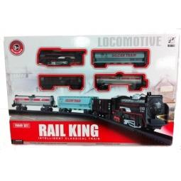 фото Набор железной дороги игрушечный Rail King «Локомотив» 1707185