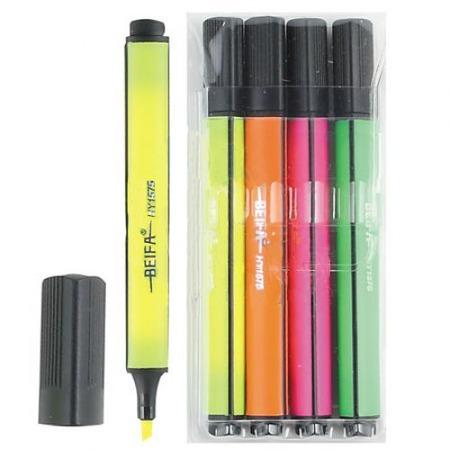 Купить Набор маркеров-текстовыделителей Beifa 15750101-4BA
