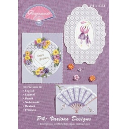 Купить Набор схем для парчмента Pergamano P4 Разнообразные дизайны