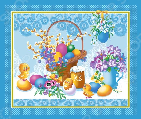 Полотенце вафельное ТексДизайн «Светлый праздник»