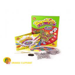 фото Краски витражные Оранжевый Слон Бабочка и рыбка