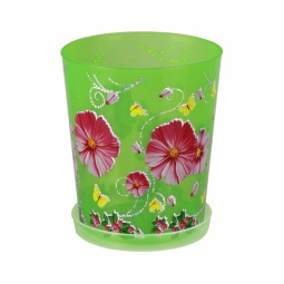 фото Горшок для орхидей Альтернатива. Цвет: зеленый. Объем: 1,2 л