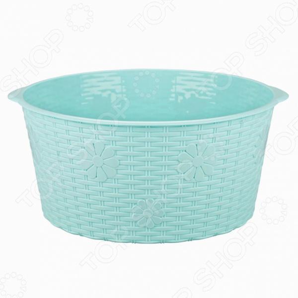 Таз АльтернативаВедра. Тазы<br>Таз Альтернатива полезный предмет для вашей ванной комнаты, бани или сауны. Таз выполнен из высококачественного пластика и пригодится не только для водных процедур, но и для стирки, уборки. Также, таз отлично подойдет для купания маленьких животных.<br>