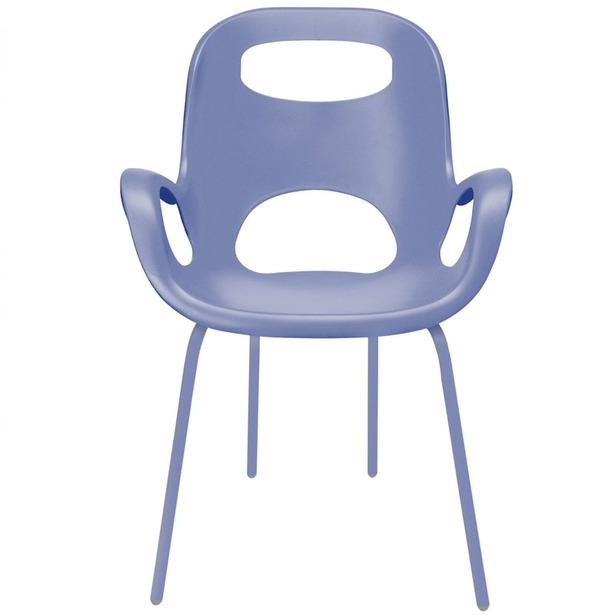 фото Стул дизайнерский Umbra Oh Chair. Цвет: лавандовый