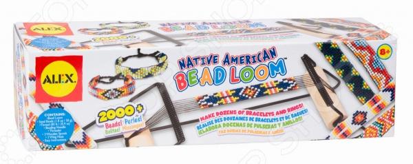 Набор для плетения из бисера Alex «Индейские узоры» наборы для плетения набор для плетения в органайзере весёлые пятнашки 292 rb