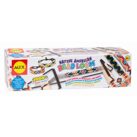 Купить Набор для плетения из бисера Alex «Индейские узоры»