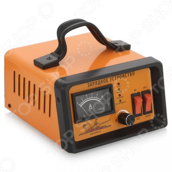 Зарядное устройство автомобильное Airline ACH-5A-06Зарядные устройства для автомобиля<br>Зарядное устройство автомобильное Airline ACH-5A-06 предназначено для подзарядки автомобильных аккумуляторов. Одним из преимуществ прибора является наличие амперметра, который позволяет контролировать зарядный ток. Предусмотрен ручной режим зарядки. Потребляемая мощность устройства составляет 70 Вт, а диапазон рабочих температур от -30 С до 40 С.<br>