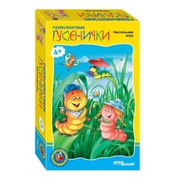 фото Игра дорожная Step Puzzle Разноцветные гусенички