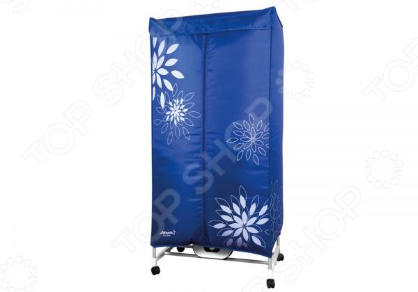 Сушилка для белья электрическая Atlanta ATH-5701Электрические сушилки для одежды<br>Сушилка для белья электрическая Atlanta ATH-5701 напольная сушилка, которая позволяет значительно сэкономить пространство. Можно установить в комнате, во дворе частного дома, на даче или на балконе. Сушка легко складывается, поэтому в собранном виде занимает мало места, её без труда можно спрятать под кровать или за дверь. В сушилка для белья есть экспресс сушка, которая высушит вещи всего за 2 часа. Преимущества:  Электростатическая эпоксидная порошковая краска.  Удобно складывается для переноски.  Удобная в использовании.  Загрузка до 10 кг.  Легкая разборная конструкция.  Таймер на 180 минут.  Колесики с противооткатным механизмом.<br>